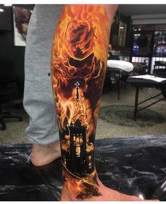 Tattoo art by Ben Kaye
