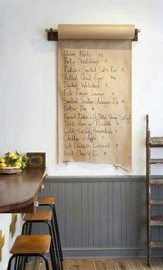 DIY - cool pour planifier les menus de la seamine #decoration #cuisine