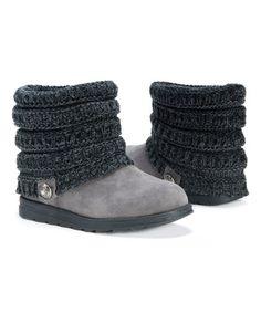 MUK LUKS Gray Patti Boot - Women | zulily