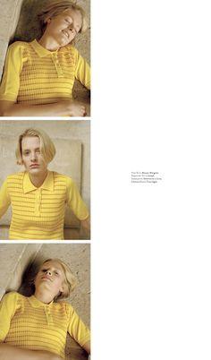 Sunniva by Clara Balzary for Twin Magazine | Lock Studios - Casting