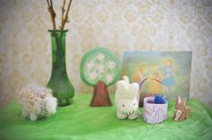 Spring Nature Table   Flickr - Photo Sharing!