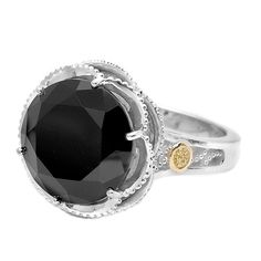 To die, I love this ring, I w/o up love a black diamond ring.