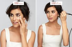 a Temptu makeup tutorial - love this system!