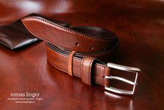 Bombírovaný opasek ručně vyrobený z krásné kůže. Belt, Leather, Accessories, Fashion, Products, Belts, Moda, Fashion Styles, Fashion Illustrations