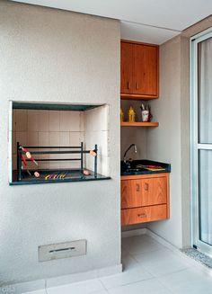 Apartamento de 69m² para morar, trabalhar e receber os amigos - Churrasqueira