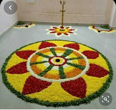 Diy Diwali Decorations, Festival Decorations, Flower Decorations, Diwali Diy, Flower Rangoli, Rangoli Designs, Henna, Kids Rugs, Blouse