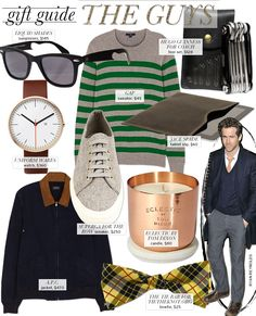 Gift Guide: Guys - Celebrity Style and Fashion from WhoWhatWear