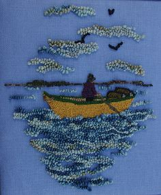 Dory races are part of our heritage in Nova Scotia so the theme Dory Stories Hooked Rug Show was aligned with the Annual International Dory Races. Rug Hooking Designs, Rug Hooking Patterns, Nova Scotia, Dory, Hand Hooked Rugs, Primitive Hooked Rugs, Rug Inspiration, Penny Rugs, Traditional Rugs