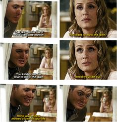 [SET OF GIFS] 2x20 What Is and What Should Never Be! This just makes me all kinds of sad for Dean.