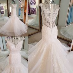 I found some amazing stuff, open it to learn more! Don't wait:https://m.dhgate.com/product/plus-size-real-photo-mermaid-wedding-gown/397607219.html