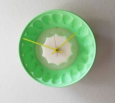 Tupperware Mint Green Jello Mold Upcycled Cottage by KZStudioz, $59.00