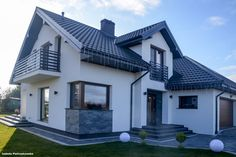 Dom w kortlandach Home Fashion, Future House, Exterior, House Design, Mansions, House Styles, Modern, Home Decor, Building Homes