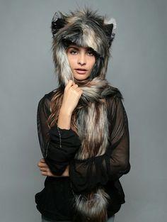 Ragazza adolescente #Leopard Animale Marrone Cutie Costume Costume E COPRICAPO