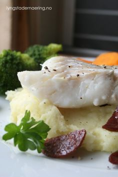 Pannestekt torsk med potetmos
