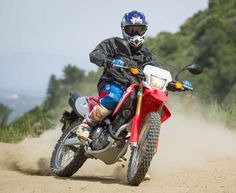2017 Honda CRF250L, 2017 Honda CRF250L Rally Ride Review Honda updates the Dual-Sport class sales champion CRF250L and releases the all-new CRF250L Rally, and DirtBikes.com is there to ride 'em both. Sport Motorcycles, Dual Sport, Dirtbikes, Motocross, Rally, Honda, Champion, Sports, Sportbikes