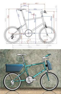 Brake pads 2 Pairs for front brake Graziella BIKE Bicycle Classic