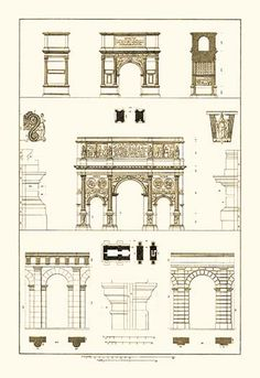 Arches and Arcades by J. Buhlmann - Art Print