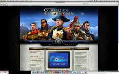 """http://www.civilizationrevolution.com/ """"Suitable for older students, Civilization Revolution provides an empire-building simulator with cultural and historical information about some of the planet's most influential societies."""" Zie ook: http://www.teachthought.com/apps-2/30-of-the-best-education-games-for-ipad/"""