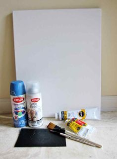 DIY- 3 easy ways to paint quotes on canvas