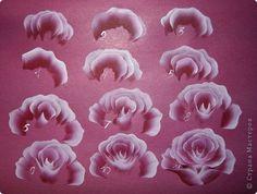 Resultado de imagem para passo a passo pintura em tecido