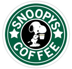 Snoopy Coffee. Lol