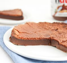 2 Ingredient Flourless Nutella Cake | Kirbie's Cravings | A San Diego food & travel blog