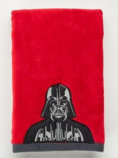 Transform his bathroom into an intergalactic wonderland with the help of this Star Wars hand towel.