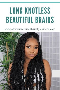 Omg nobody can rock this like you, this is so frigging pretty. Mi have to try this. Beautiful Braids, African American Hairstyles, Prom Hairstyles, Hair Videos, Protective Styles, Black Girls, Natural Hair Styles, Passion, Rock