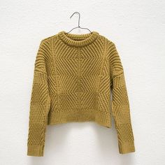 "@micaela_greg's photo: ""Bevel sweater : ochre"