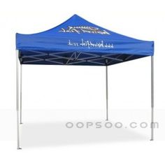 Personalized Blue Nylon Trade Show Tent For Showcase - OT1412242143