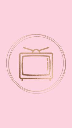 Instagram Banner, Pink Instagram, Instagram Blog, Instagram Fashion, Pink Highlights, Story Highlights, Tv Icon, Cute App, Insta Icon