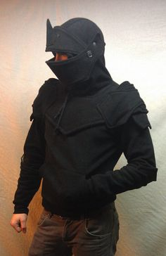 Dread Knight Armored Hoodie S/ M/ L/XL by SOFworks on Etsy