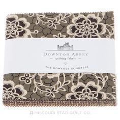 Downton Abbey - Dowager Countess Charm Pack - Kathy Hall - Andover Fabrics