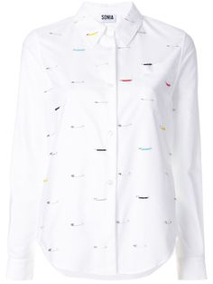Sonia By Sonia Rykiel safety pin shirt