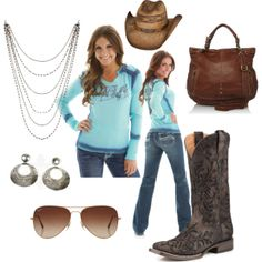 """Cowgirl Tuff"" by cowgirltuffcompany on Polyvore"