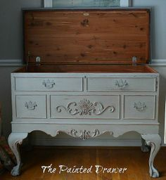 A Refinished French Cedar Chest