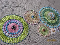 ELLA'S CRAFT CREATIONS: Annette's circles.......progress !