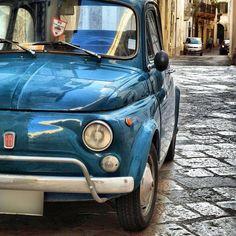 Gallipoli, Fiat500, #Puglia johnenpieter.com