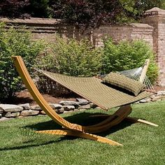 Soft Weave Hammock - Frontgate, Patio Furniture - traditional - hammocks - FRONTGATE