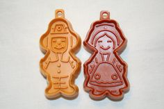 Hallmark Miniature Pilgrim Cookie Cutters.
