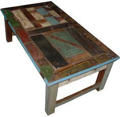 Painted Coffee Tables | Distressed Painted Coffee Table | Rustic Furniture Mall by Timber ...
