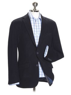 """The perfect smart-casual piece, these jackets will take you seamlessly from a day at the office to after-hours drinks. Cut from quality 100 per cent wool, they feature half-canvas construction, a modern two-button fastening, four button cuffs and three internal pockets. Dry clean only.  Sleeve: Short, Regular and Long. Chest: 36"""", 38"""", 40"""", 42"""", 44"""", 46"""", 48"""" BV17GN"""