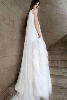Вера Вонг свадебные платья 2015 Look 5