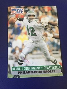 1991 Pro Set Randall Cunningham Card 256 Trading Cards 3bd131c77