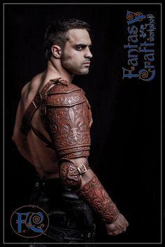 Leather  armour set Aramis by I-TAVARON-I