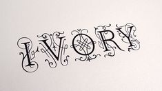 Image result for ivory typeface