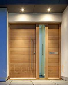 Page not found - Urban Front - Contemporary Front Doors UK Contemporary Front Doors, Modern Front Door, Front Door Design, Modern Entry, Wooden Door Design, Wood Entry Doors, Front Door Entrance, Front Door Decor, Front Entry