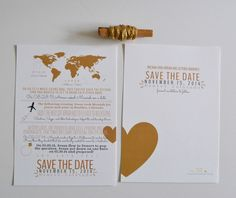 Design: Love Story Save-the-Date - How We Met Save the Date - Save The Date Postcard - Wedding Invites - Wedding - Custom Designs - by givewithjoy on Etsy https://www.etsy.com/listing/194119429/design-love-story-save-the-date-how-we