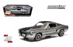 Greenlight 1/18 Gone in 60 Seconds 1967 Ford Mustang Eleanor Diecast Model