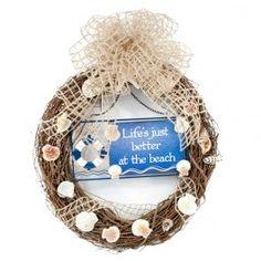 Better at the Beach Wreath